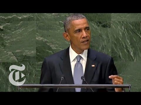 United Nations General Assembly Speech by President Obama: September 24, 2013