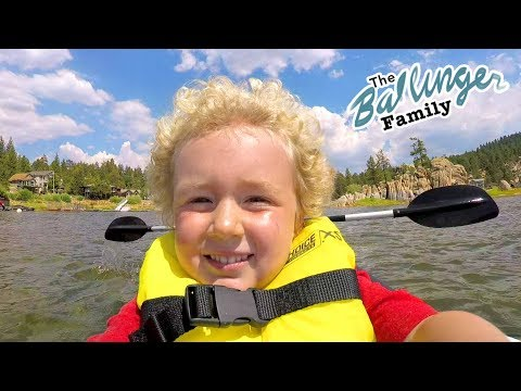 He Was Almost Too Scared to Do This - Ballinger Family Camping Vlogs! Summer Vacation 2017