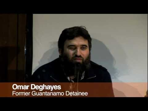 Omar Deghayes - Guantanamo Remembered: 10 Years event