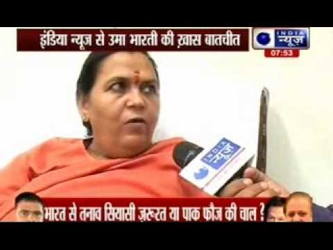 Uma Bharti says Saraswati not a myth, starts hunt for river
