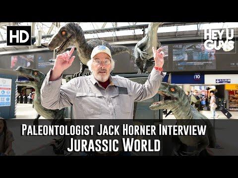 Paleontologist Jack Horner Interview - Jurassic World at London Waterloo