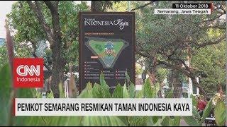 Pemkot Semarang Resmikan Taman Indonesia Kaya
