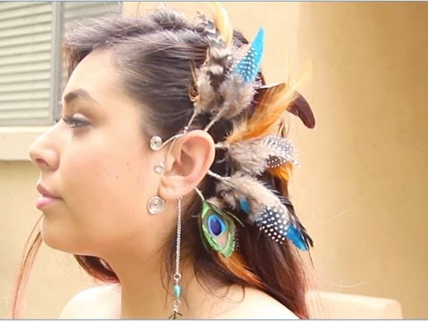 Feather Ear Cuff  DIY