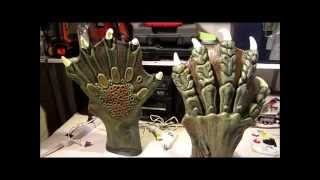 Creature from the Black Lagoon Costume Build - Hands and Feet