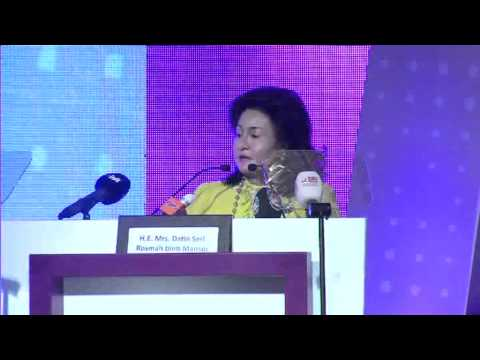 QIBWF 2013 - First Lady of Malaysia Speech (Opening Ceremony Part 3)