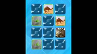 Match Animals Part 1  | Learning Games for Preschoolers