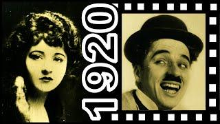1920's Silent Movie Idols Pt2: Corinne Griffith Charlie Chaplin Ramon Novarro