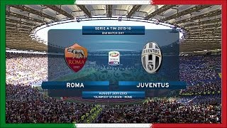 Serie A 2015-16, AS Roma - Juve (Full, STD)