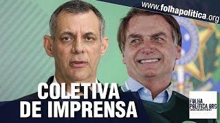 AGORA: Coletiva de imprensa do Governo Bolsonaro - Presidente do BNDES, Armamento, extra-OTAN
