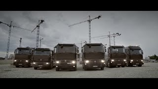 Renault Trucks C : Construction range