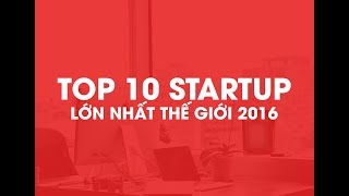 Top 10 Startup 2016