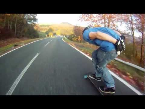 BOLZEN Trucks Downhill Testrun Fall 2011