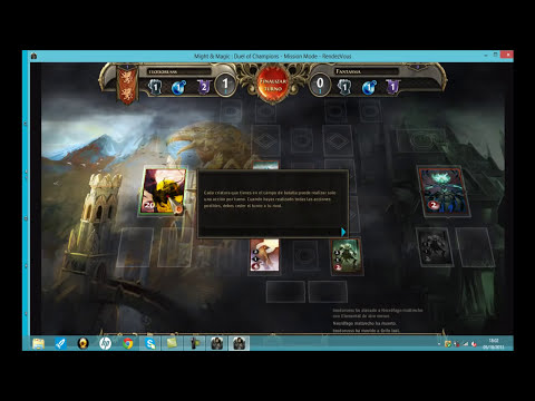 Duel of Champions Might & Magic, juego de cartas  magic descargar y jugar 2013