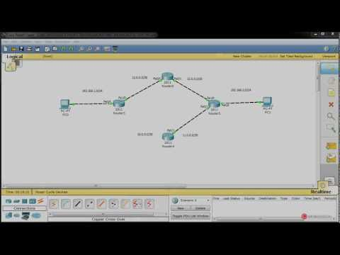 Informatica Redes 048 Ospf Ruta de respaldo