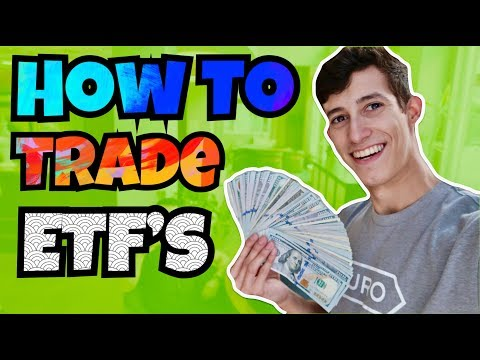 The Basics Of Trading ETF'S In The Stock Market | How To PROFIT