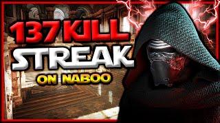 Star Wars Battlefront 2 Kylo Ren 137 Killstreak (Naboo)