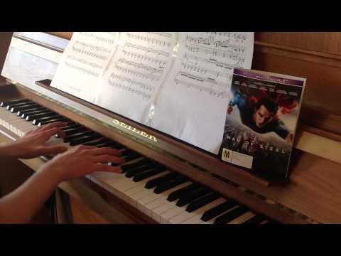 Man of Steel - An ideal of Hope - Piano cover + Sheet Music