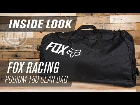 Fox Racing Podium 180 MX Gear Bag | Inside Look