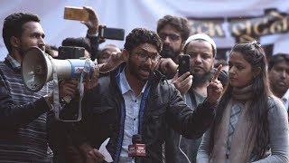 Activists and students unite at Jignesh Mevani rally in Delhi