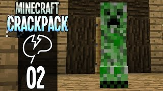 Minecraft: CrackPack S2 - Mountaintop Home (Episode 2)