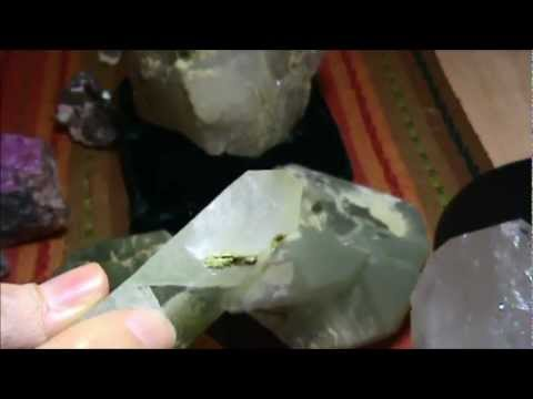 Crystal Treasures - Tucson 2013 part 3 - Dream Quartz + Brandberg Amethyst