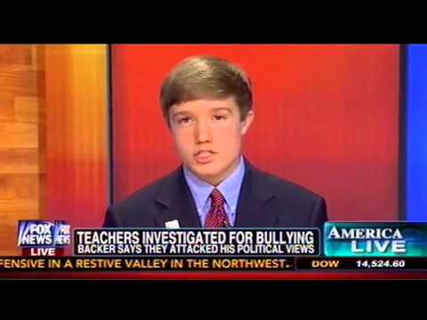 15-Year-Old Tea Partier Speaks Out To Fox's Megyn Kelly About 'Bullying' From Liberal Teachers
