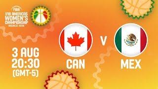 Канада до 18 (Ж) : Мексика до 18 (Ж)