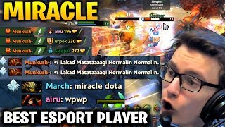 Miracle Ember Spirit: He Show Us Why He is the Best Esport Player!