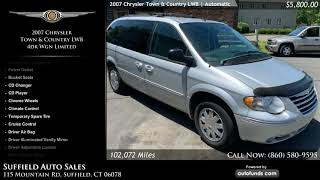 Used 2007 Chrysler Town & Country LWB | Suffield Auto Sales, Suffield, CT