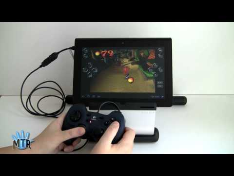 Sony Tablet S with PlayStation Gaming Controller