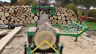 Turning Firewood Into Lumber With My HFE 21