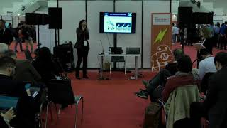 Dr Fanny Ficuciello's presentation @ Maker Faire Rome 2018 - 14 Oct 2018