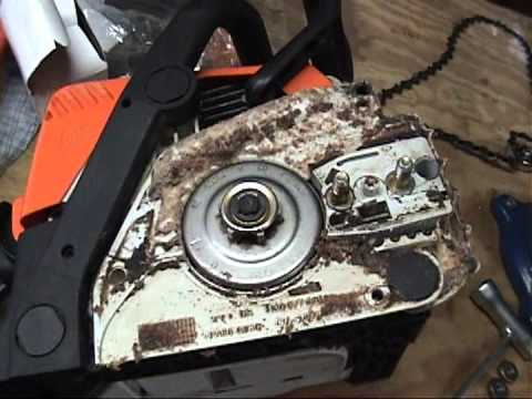 Stihl MS 170 Chainsaw new carburetor install 12/3/11
