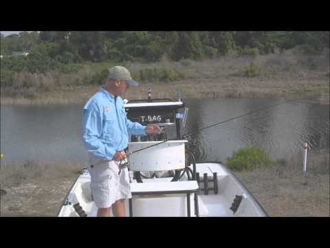 Mosquito Lagoon Light Tackle Fishing Tips on the Flats Boat
