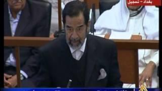 فيديو... مشاهد مجمعة لأبرز لقطات محاكمة صدام حسين