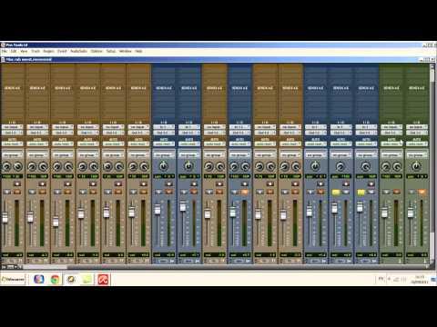 #1 Tutorial Mixage Protools Le 8 - Reverb (Tuto Français)