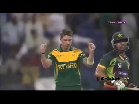 Dale Steyn Wickets Collection   Cricket Highlights || sports corner