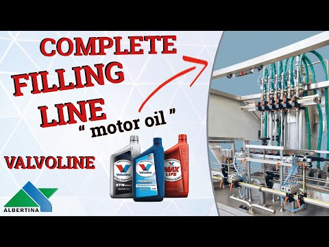 Albertina - Complete flling line for Valvoline oil