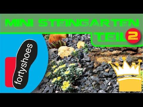 Kleiner Steingarten 2 - Die Einfassung