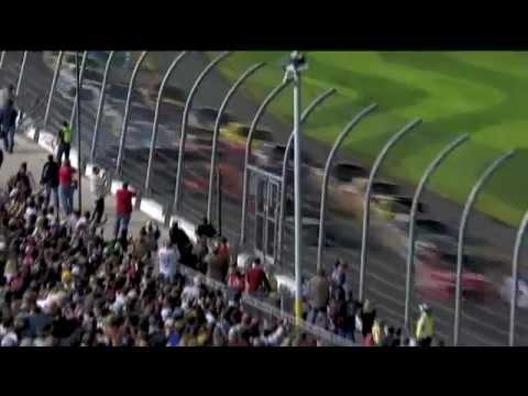 Big Crash on Lap 2! - 2012 Daytona 500