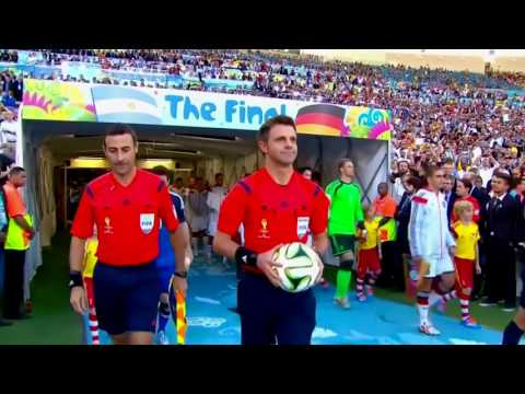 Germany vs Argentina 1-0 Highlights Final FIFA World Cup 2014 in Brazil (English Reporter)