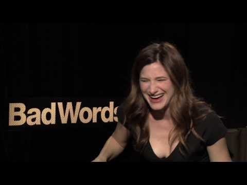 BAD WORDS Interviews: Jason Bateman and Kathryn Hahn take a spelling quiz