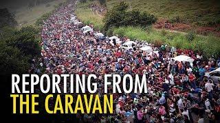 Media's caravan narrative vs. REALITY | David Menzies in Mexico
