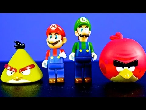 Mario and Luigi Help The Angry Birds EPIC