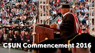 CSUN Commencement 2016: Health & Human Development  II and Humanities