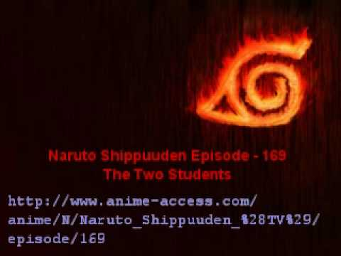 Naruto Shippuuden Episode 169 - Free Download video