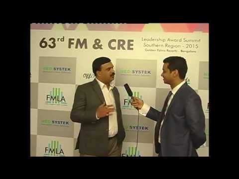Prakash A H being interviewed for the FM Wall of fame