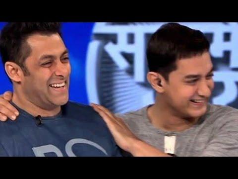 Will Salman Khan Visit Aamir Khan's Satyamev Jayate? video