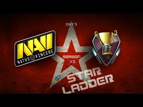 SLTV StarSeries S6 Day 5  NaVi vs iCCup