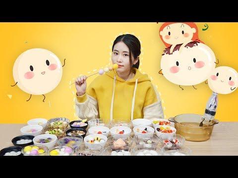 E42 Cooking Dumplings(TangYuan) in office!  Ms Yeah